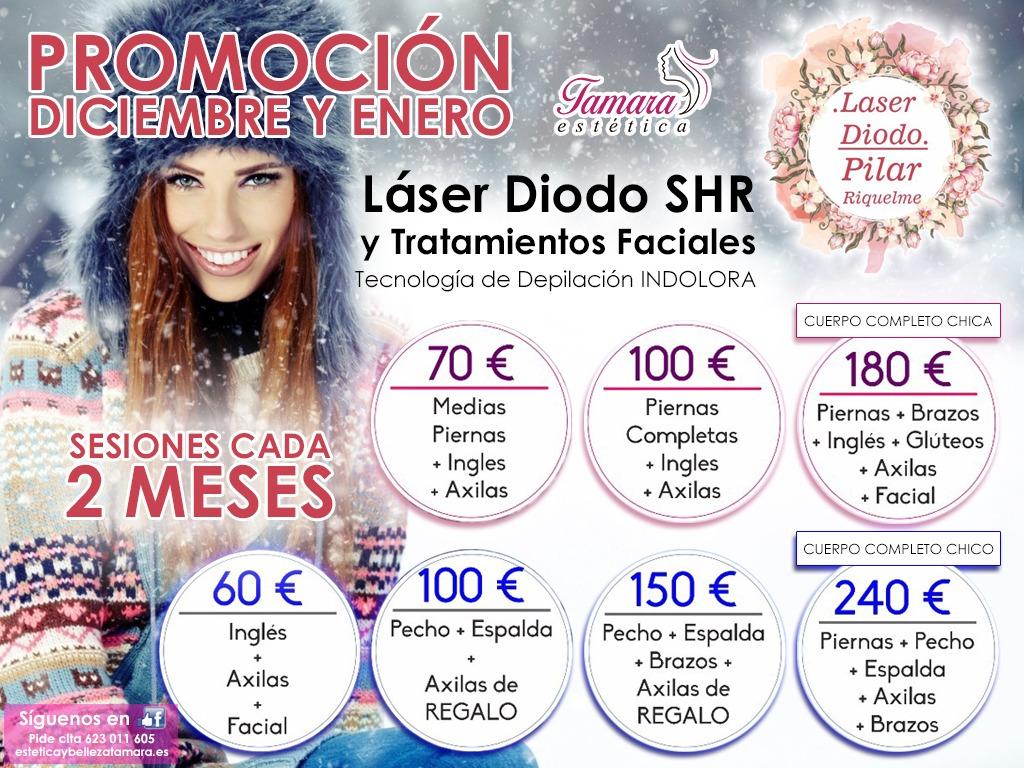 Promoción Depilación Laser